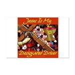 Jesus Designated Driver Mini Poster Print