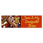Jesus Designated Driver Bumper Sticker