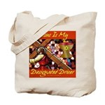 Jesus Designated Driver Tote Bag