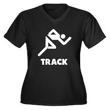 Track Plus Size T-Shirt