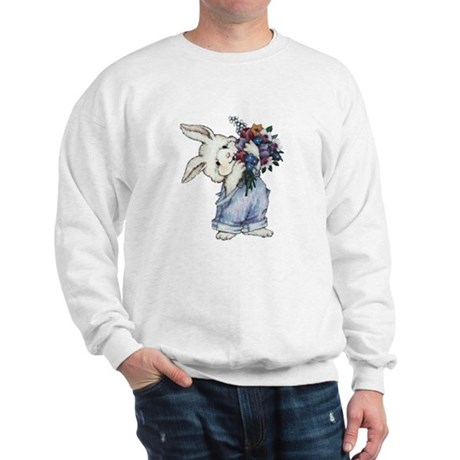 Bunny with Flowers Sweatshirt