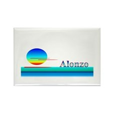 Alonzo Rectangle Magnet (100 pack)