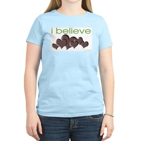 I believe in chocolate Women's Light T-Shirt