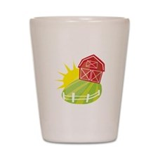 Sunny Barn Shot Glass