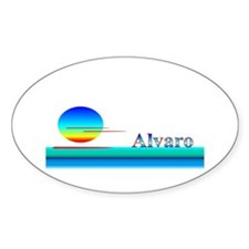 Alvaro Oval Decal