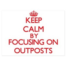 Keep Calm by focusing on Outposts Invitations