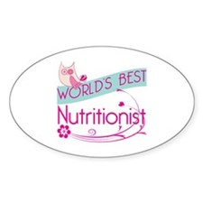 World's Best Nutritionist Decal