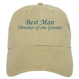 Best Man Brother of the Groom Cap
