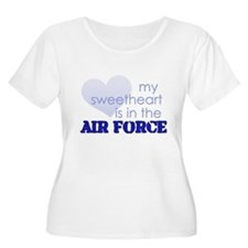 My Sweetheart is in the Air F T-Shirt