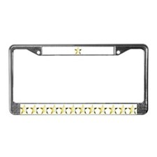 BEAR Stars - License Plate Frame