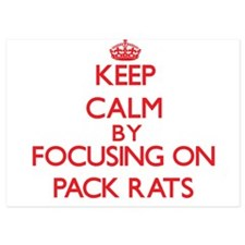 Keep Calm by focusing on Pack Rats Invitations