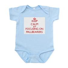 Keep Calm by focusing on Pallbearers Body Suit