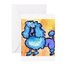 puffybluepoodle Greeting Cards