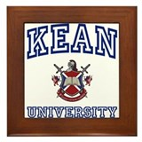 KEAN University Framed Tile