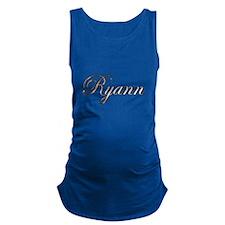 Gold Ryann Maternity Tank Top