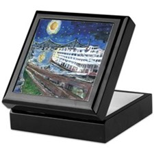 Mississippi River Boat Keepsake Box