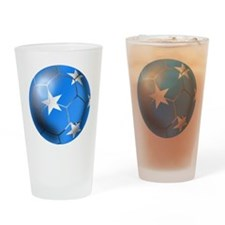 Micronesia Football Drinking Glass