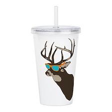 Cool Deer Acrylic Double-wall Tumbler