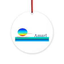 Amari Ornament (Round)