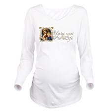 Funny Right life Long Sleeve Maternity T-Shirt