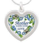 Mothers Love Heart.png Necklaces