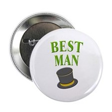 Best Man (hat) Button