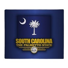 South Carolina (v15) Throw Blanket