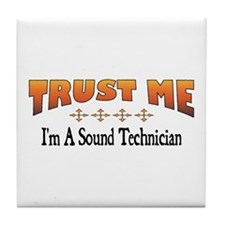 Trust Sound Technician Tile Coaster