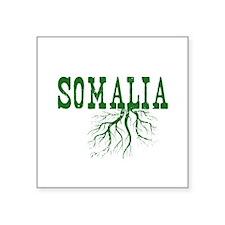 "Somalia Roots Square Sticker 3"" x 3"""