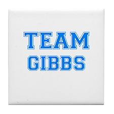 TEAM GIBBS Tile Coaster