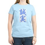 Faithful and True Women's Light Blue T-Shirt