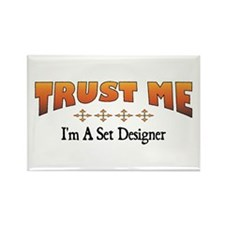 Trust Set Designer Rectangle Magnet