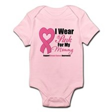 I Wear Pink For My Mommy Body Suit