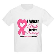 I Wear Pink For My Mommy T-Shirt