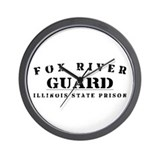 Guard - Fox River Wall Clock