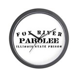 Parolee - Fox River Wall Clock