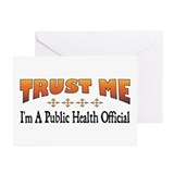 Trust Public Health Official Greeting Cards (Packa