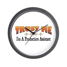 Trust Production Assistant Wall Clock