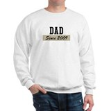Dad since 2009 (brown) Sweatshirt