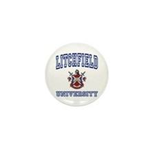 LITCHFIELD University Mini Button (10 pack)