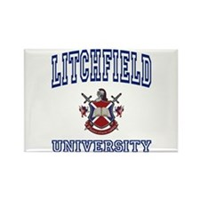 LITCHFIELD University Rectangle Magnet