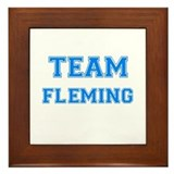 TEAM FLEMING Framed Tile