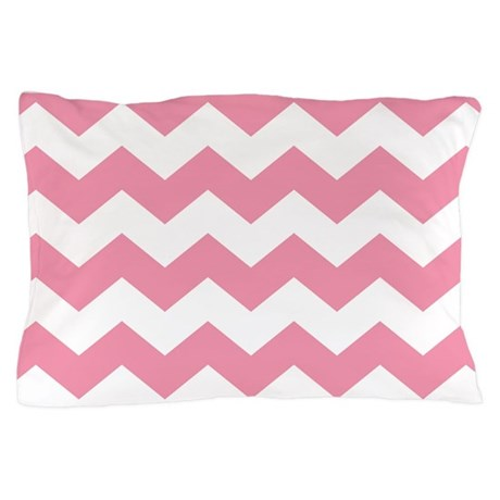 Chevron Zigzag Pink Pillow Case