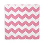 Chevron Zigzag Pink Queen Duvet