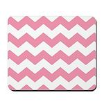 Chevron Zigzag Pink Mousepad