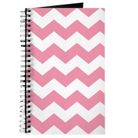 Chevron Zigzag Pink Journal