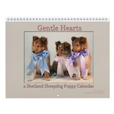 Gentle Hearts Puppy Wall Calendar