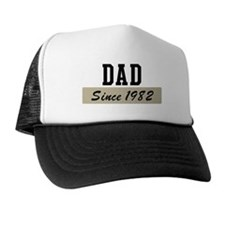 Dad since 1982 (brown) Trucker Hat