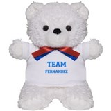 TEAM FAULKNER Teddy Bear