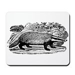 Drawing of a Badger Mousepad